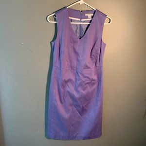 Isaac Mizrahi Live! Sleeveless Career Dress Purple